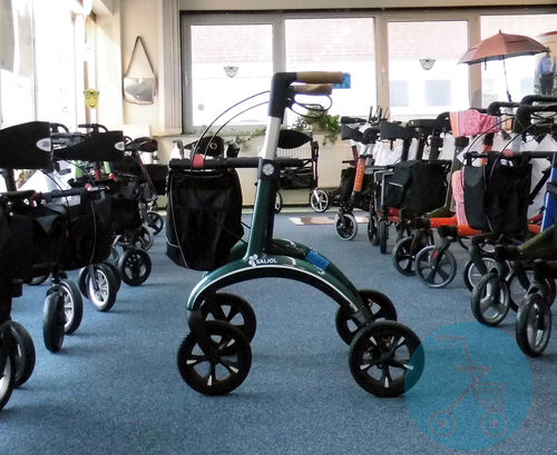 SALJOL Carbonrollator British Racing Green