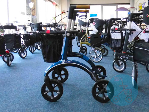 SALJOL Carbonrollator Midnight Blue